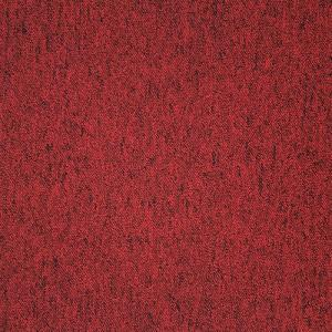 Gridline Coral Red Carpet Tile