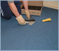 How To Fit Carpet Tiles